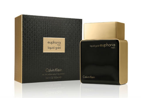 Calvin Klein CK  Liquid Gold Euphoria Men