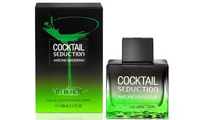 Antonio Banderas Seduction In Black Cocktail