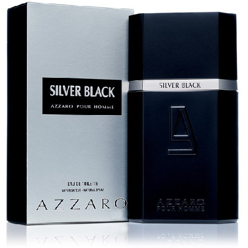 Azzaro Silver Black Chrome