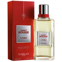 Guerlain Habit Rouge L`Eau men